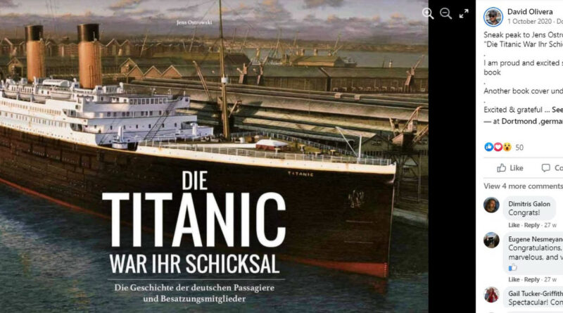 Journo Claims Titanic Survivor Pretended To Be Aristocrat And Later Joined Nazis To Become Member Of SS